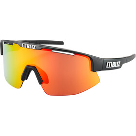 Bliz Matrix M11 Glasses black/brown with red multi